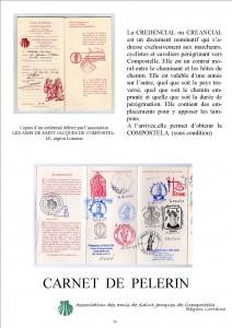 CARNET DE PELERIN