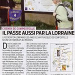 Article France Agricole 22-10-13 - Chemin Compostelle